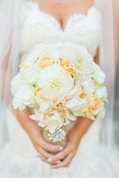 bride's beautiful bouquet made by Tyler Speier @Tyler Speier