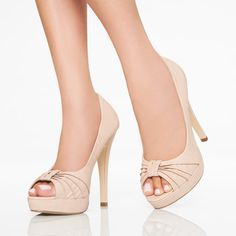 I need some nude shoes
