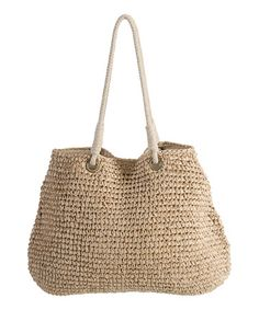 Another great find on #zulily! 21'' Handwoven Tote #zulilyfinds