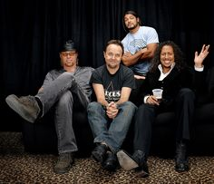Songs by metallica Best Of Metallica, Robert Trujillo, Kirk Hammett, James Hetfield, Heavy Metal Bands, Thrash Metal, Famous Celebrities, Cool Bands, My Boys