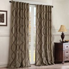 "<p>Dress up your room with the Serendipity curtain panel.</p><div style=""page-break-after: always"