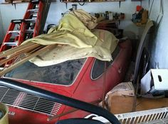 1968 #Porsche 912 Garage Find: http://www.barnfinds.com/family-dreams-1968-porsche-912/