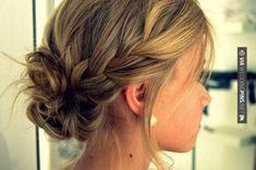 Yes - Side Bun Wedding Hair My Pins Blog - Side braid into low bun - makes me want long hair so I can do this!! @Amy Lyons | CHECK OUT THESE OTHER SWEET TEMPLATES FOR TASTY Side Bun Wedding Hair OVER AT WEDDINGPINS.NET | #sidebunweddinghair #naturalhair #weddinghairstyles #weddinghair #hair #stylesforlonghair #hairstyles #hair #boda #weddings #weddinginvitations #vows #tradition #nontraditional #events #forweddings #iloveweddings #romance #beauty #planners #fashion #weddingph