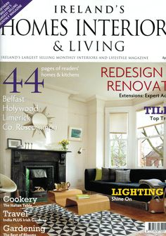 good homes magazine december 2011 featured cube coffee table in