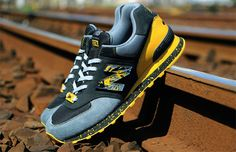 shelflife x Dr Zulu New Balance 574