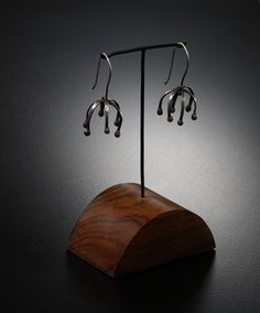 B R A N D O N H O L S C H U H ART JEWELRY, SCULPTURES AND INSTALLATIONS [earrings / sculpture]