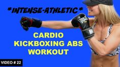 20 Min Cardio Kickboxing ABS Workout   Cardio ABS Free Home Workout Video