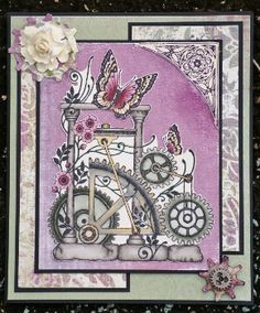 Steamy L from Punky Romance Stamp Set