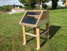 Build a Simple Solar Food Dehydrator for Chemical-Free Food Preservation Don't pay a premium to buy pre-dehydrated food. Dehydrate your own with this simple dehydrator made from scrap lumber. Cheap beef jerky, here we come! Diy Solar, Alternative Energie, Agriculture, Solar Oven, Sun Power, Dehydrator Recipes, Fruit Dehydrator, Preserving Food, Cool Diy Projects