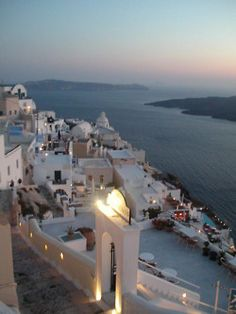 Dusk - Santorini, Greece