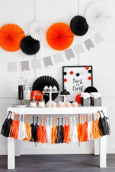 How to Create a Gorgeous Halloween Party Table | Design + Supplies from The TomKat Studio