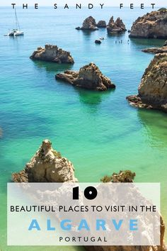 10 Beautiful Places To Visit In The Algarve, Portugal #TravelEuropeBeach