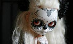 calavera y esqueleto by Kittytoes