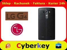 Etui tył plecki LG G4 Leather CPR-110 CZARNY ORYG
