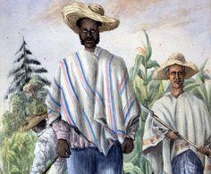 Cosechadores de maíz en Rionegro, provincia de Córdova