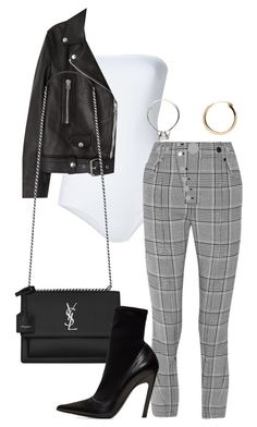 """""""Untitled"""" by whoiselle ❤ liked on Polyvore featuring ONIA, Alexander Wang, Acne Studios, Yves Saint Laurent, Balenciaga and Vetements"""