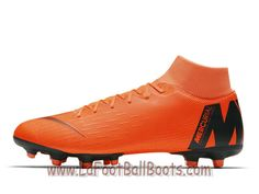 separation shoes 48827 a3b53 Nike Mercurial Superfly VI Academy MG Chaussure de football multi-terrains  à crampons Orange total AH7362 810 - 1805311124