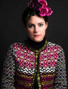 KH Frida 103 Fridas korte, fargerike jakke, Sterk og Bling