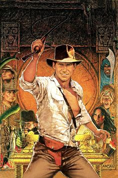'Raiders Of The Lost Ark' by Richard Amsel