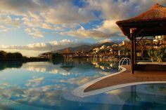 #blue #pool #sky #summer #water #cloud #resort