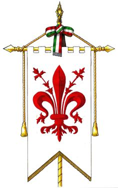 il gonfalone di Firenze #TuscanyAgriturismoGiratola