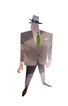 1950's Detective Getting work ready for the CTN this year in November. I will be at a booth with a few friends from Seattle, I hope to meet many of you there!