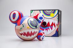 """AVAILABLE ONLINE NOW: Takashi Murakami's """"Mr. DOB"""" from BAIT SWITCH Collectibles!"""