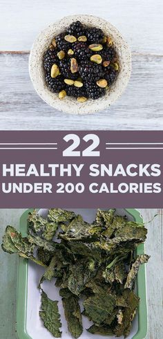 22 Healthy And Filling Snacks Under 200 Calories