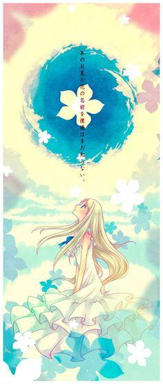 Menma/Honma Meiko AnoHana/Ano Hi Mita Hana no Namae o Bokutachi wa Mada Shiranai The Flower We Saw That Day Film Anime, Sad Anime, I Love Anime, Kawaii Anime, Manga Art, Manga Anime, Anime Art, Otaku, Chibi