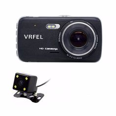 VRFEL Car DVR Camera Dual Lens with LDWS ADAS Rear view Support Front Car Distance warning Full HD 1080P 170 car dvrs dashcam