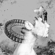 Lonely Lady Ferris Wheel by Rick Carlson