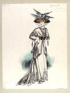 Design | paquin | V Search the Collections Summer 1907