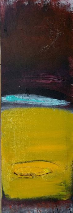 Jumping Off  Original Abstract Acryllic painting on by LivsGlad