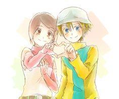 Hikari and Takeru :)