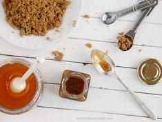 The Kitchen McCabe: DIY Brown Sugar Honey Facial Scrub