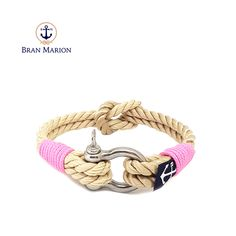Bran Marion bracelets are the perfect casual accessory for the outdoorsy sporty types. Especially the water enthusiasts. Nautical Bracelet, Nautical Jewelry, Reef Knot, Marine Rope, Rope Knots, Jewelry Knots, Everyday Look, Handmade Bracelets, Jewelry Collection