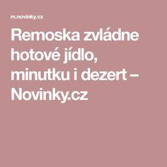 Remoska zvládne hotové jídlo, minutku i dezert– Novinky.cz Electric, Dishes, Baking, Mini, Traditional, Tablewares, Bakken, Backen, Sweets