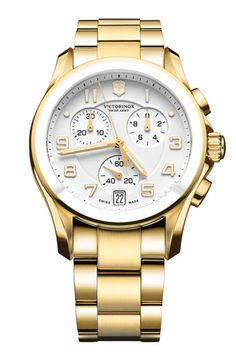 Victorinox Swiss Army® 'Chrono Classic' Watch with Ceramic Bezel available at #Nordstrom