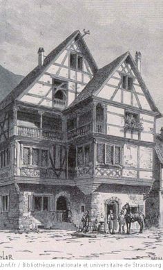 Maison du maréchal ferrant à Kaysersberg