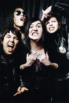 Escape the Fate listening to mot good enough for the truth in cliche right now