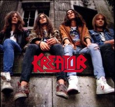 Formed in 1982 in Essen, Germany, Kreator is One popular band of Thrash Metal. Heavy Metal Rock, Heavy Metal Bands, Black Metal, Thrash Metal, Metallica, Hard Rock, Music Love, Good Music, 70s Rock Bands