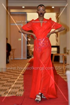 Beautiful creation from House of Kongo. Innovating African fashion