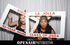 Photo Booth Individual Pictures with Props