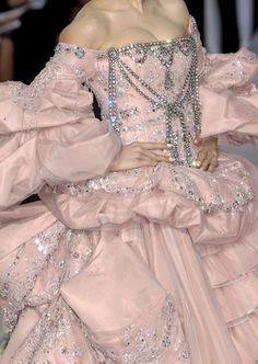 Versailles pink couture.