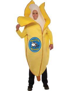 Halloween Banana Adult Unisex Costume