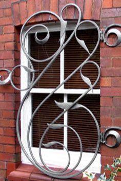 Decorative wrought iron!  Visit stonecountyironworks.com for more beautiful wrought iron designs!