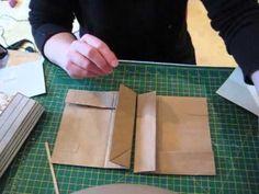 Basic paper bag mini album, Binding