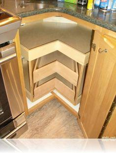 Corner Cabinet Solutions – Kitchen Drawer Organizers