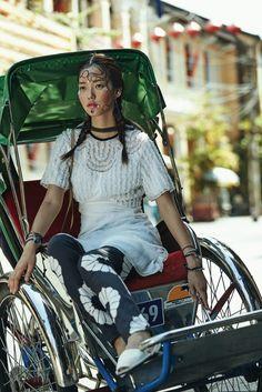 L'AMANT | Hwang Seon for Vogue Korea, July 2015