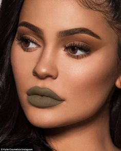 Will it sell? Kylie Jenner modeled the new lip color Ironic which some fans looks like 'ba... #kyliejenner